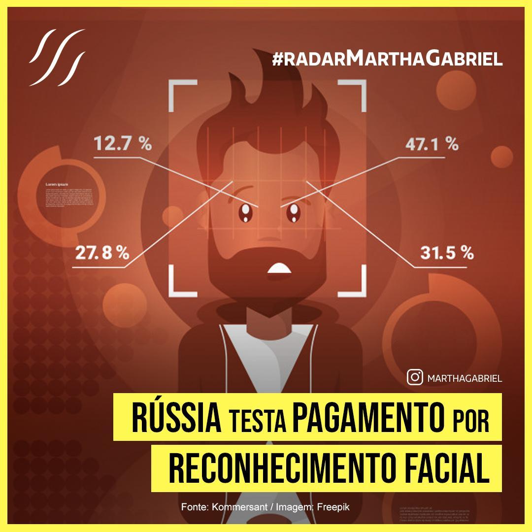Rússia testa pagamento por reconhecimento facial