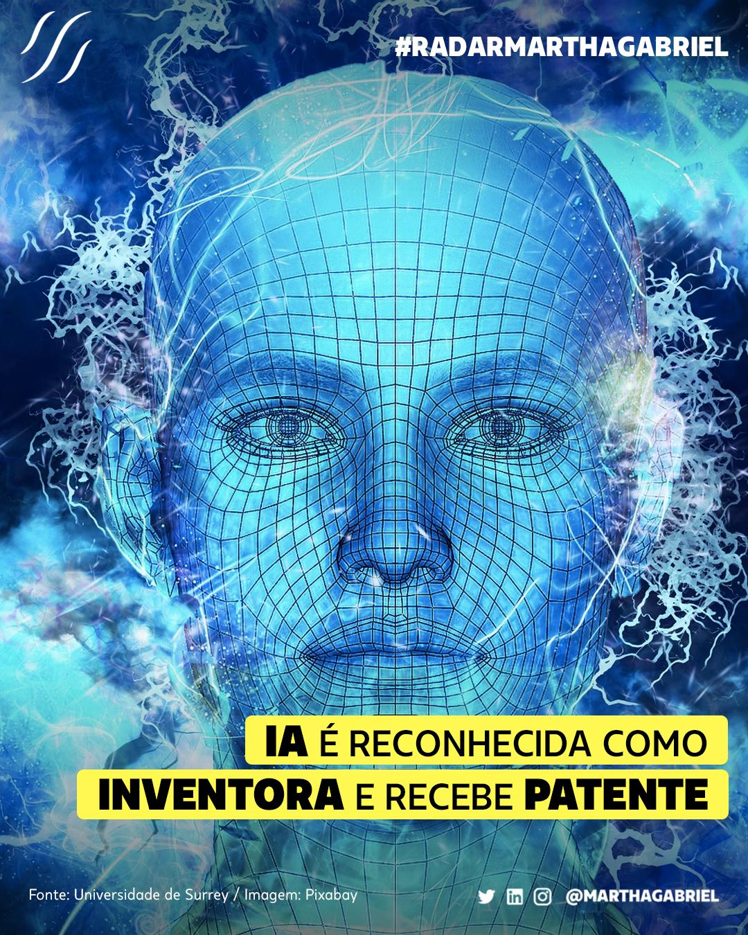 IA é reconhecida como inventora e recebe patente