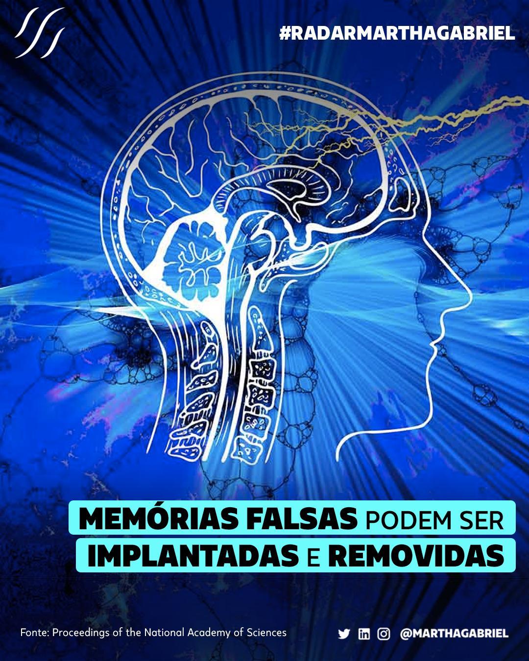 Memórias falsas podem ser implantadas e removidas