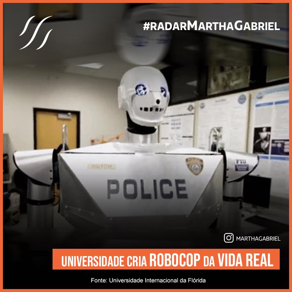 Universidade cria Robocop da vida real