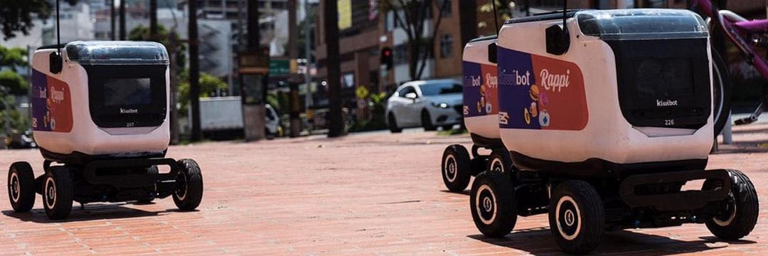 Rappi testa robôs para entrega de comida em domicílio