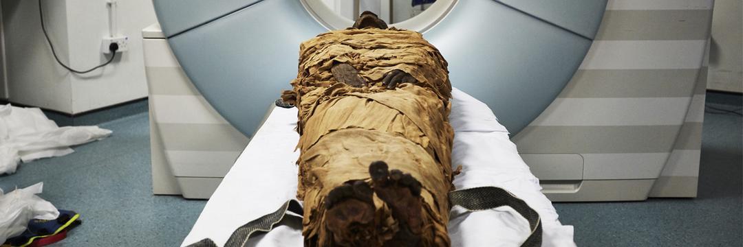Cientistas recriam voz de múmia de 3 mil anos