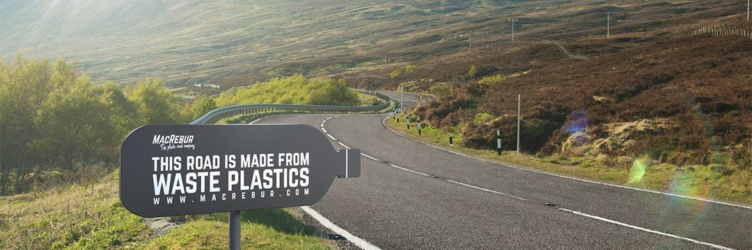 Empresa desenvolveu tecnologia para converter lixo plástico em asfalto