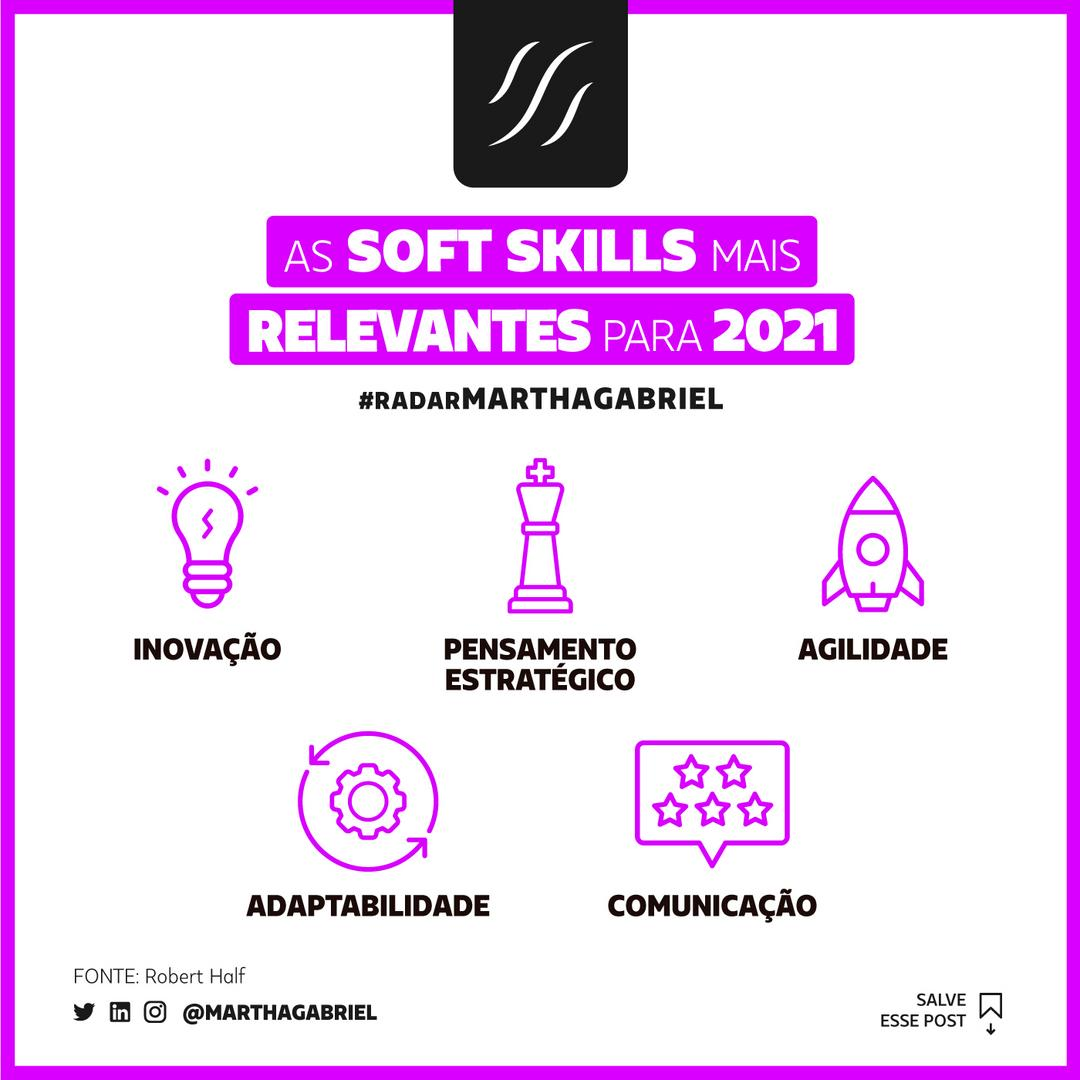 As Soft Skills mais relevantes para 2021