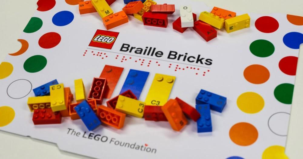 LEGO lança linha de peças que ajudam no ensino do Braille