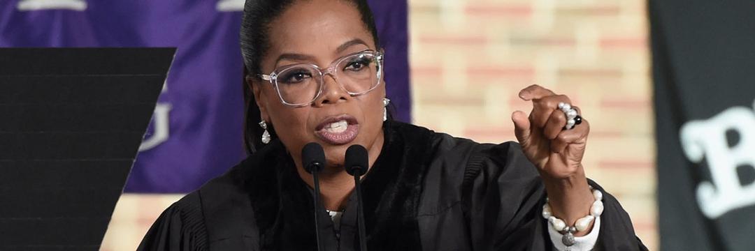 Oprah Winfrey é oradora em cerimônia de formatura virtual no Facebook