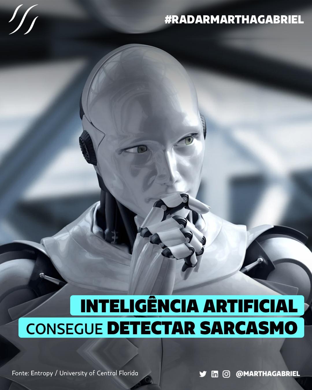 Inteligência Artificial consegue detectar sarcasmo
