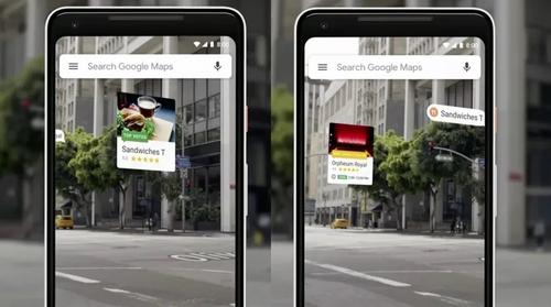 Google Maps testa ícones flutuantes de Realidade Aumentada no Street View