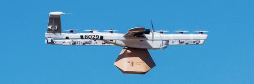Drones do Google vão entregar livros para crianças nos EUA