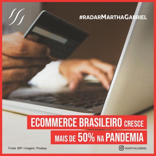 E-commerce brasileiro cresce mais de 50% na pandemia