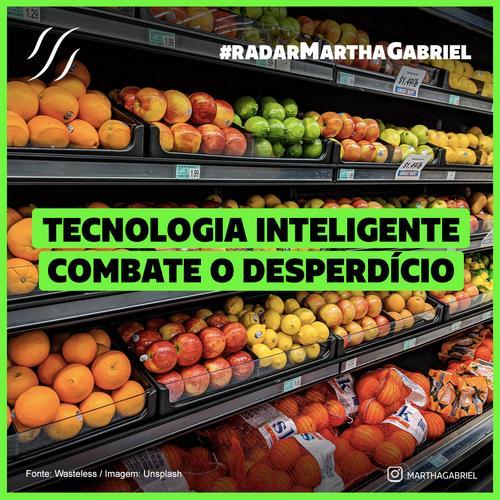 Tecnologia inteligente combate desperdício