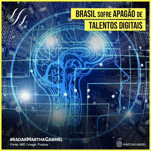 Brasil sofre apagão de talentos digitais
