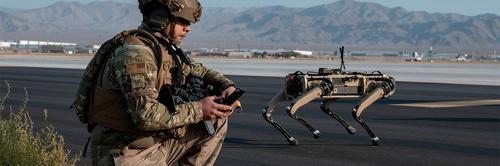 Cães-robôs se juntam à Força Aérea dos Estados Unidos